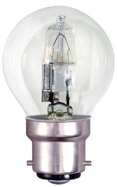 Bell 10 Pack Energy Saving 28w BC Clear Golf Ball Lamps