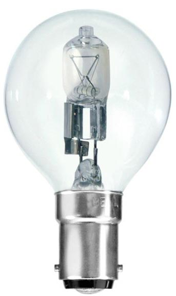 Bell 10 Pack Energy Saving 28w SBC Clear Golf Ball Lamps