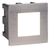 Ankle Small 1.5w LED Outdoor Recessed Wall Light Stainless Steel IP65