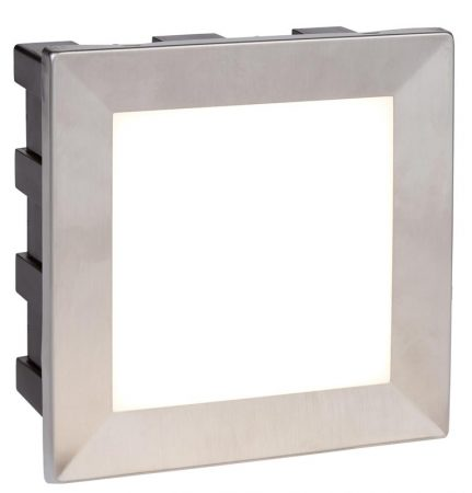 Ankle Large 3.5w LED Outdoor Recessed Wall Light Stainless Steel IP65