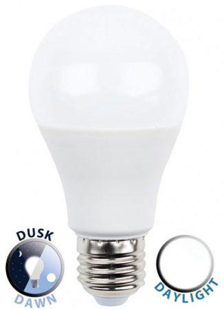 10W LED ES/E27 GLS Light Bulb Dusk / Dawn Daylight White 800 Lumen