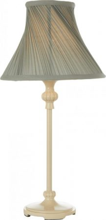 Duck Egg Blue and Cream Table Lamp