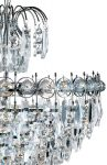 Catherine Traditional Polished Chrome 7 Light Crystal Chandelier