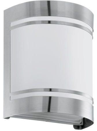 Cerno Half Round Stainless Steel Outdoor Wall Light IP44