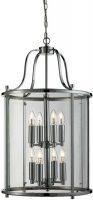 Traditional Polished Chrome 8 Light Hanging Lantern