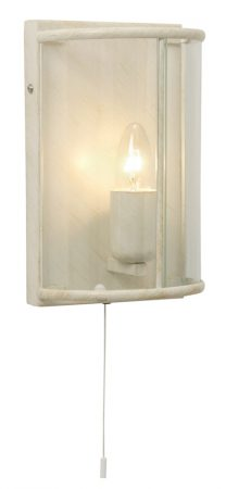 Fern Small Cream And Gold Switched Carriage Wall Lamp