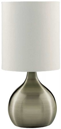 Modern Antique Brass Vase Touch Dimmer Table Lamp
