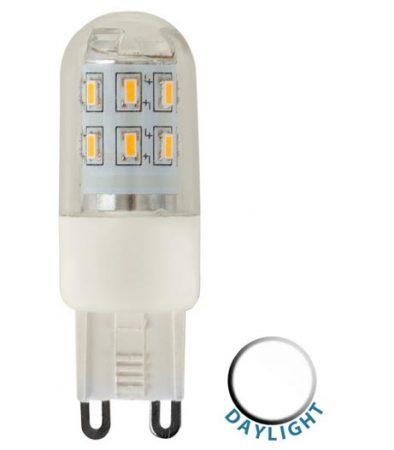 3w LED G9 Capsule Bulb 6500k Daylight White 300 Lumen