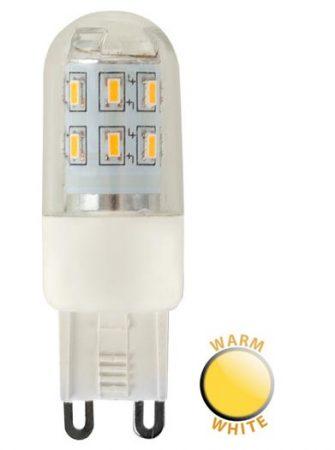 3w LED G9 Capsule Bulb 3000k Warm White 300 Lumen
