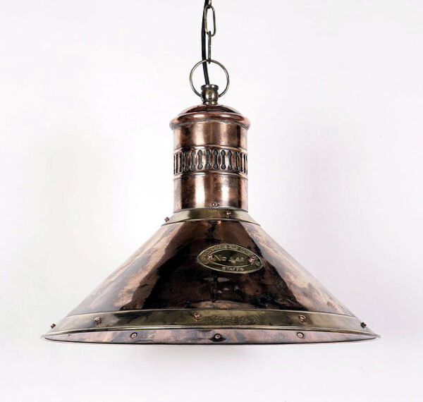 Deck Lamp Solid Copper And Brass Ceiling Pendant Lantern