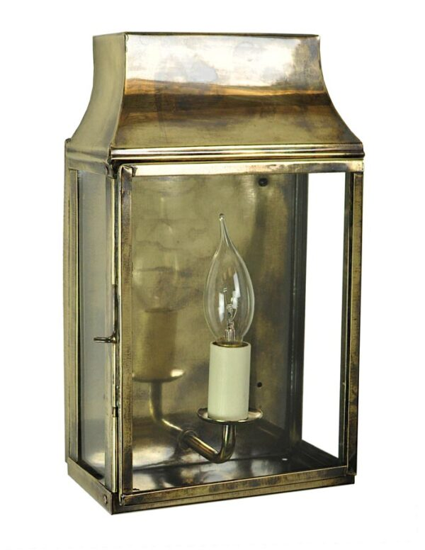 Strathmore small 1 light vintage outdoor wall lantern light antique