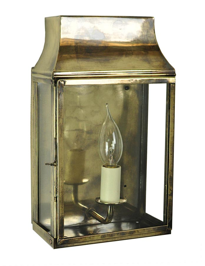 Strathmore small 1 light vintage outdoor wall lantern light antique
