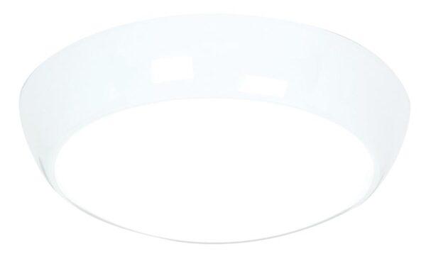 Saxby Vigor flush 16w LED bright bathroom ceiling light IP44