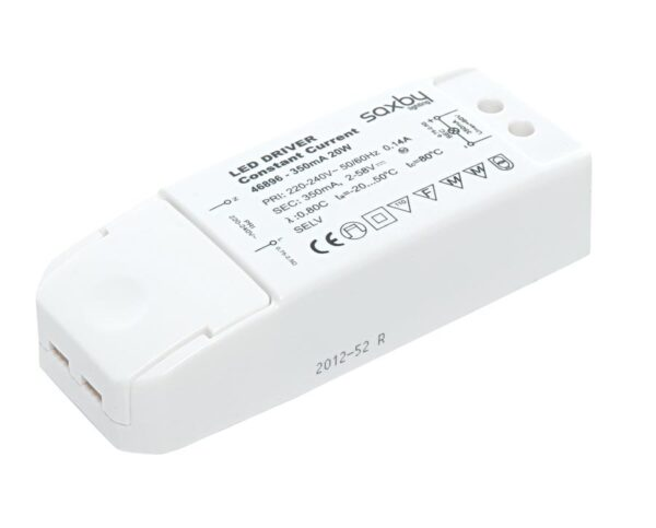 Constant Current 350mA LED Driver Non Dimmable 20w