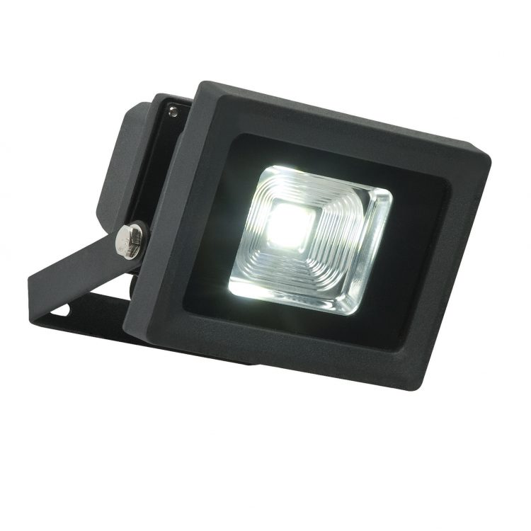 Olea 11w Outdoor LED Security Light In Textured Black