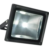 Olea Very Bright 51w Outdoor LED Security Light In Textured Black