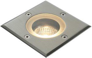 Pillar Square Marine Grade Stainless Steel IP65 Walkover Light