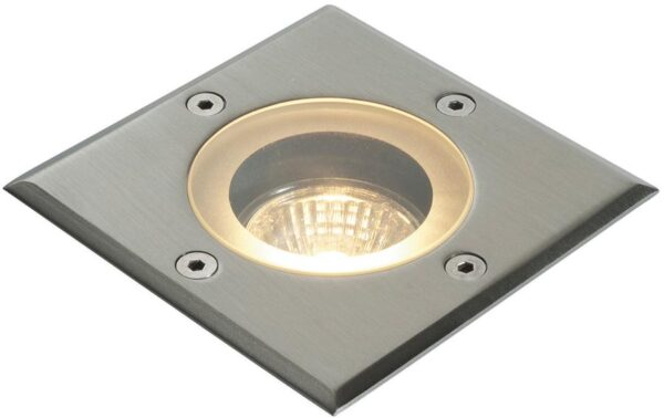 Pillar Square Marine Grade Stainless Steel IP65 Walkover Light