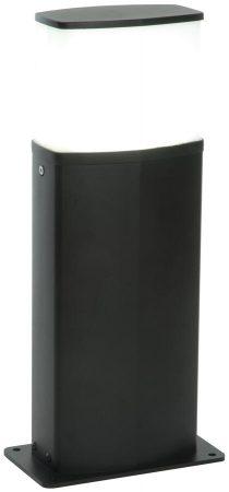 Tiesto Modern Black Outdoor 10w LED Short Post Light 600 Lumen