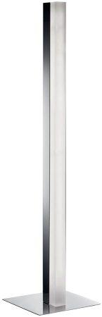 Solexa Modern Chrome Column LED Table Lamp