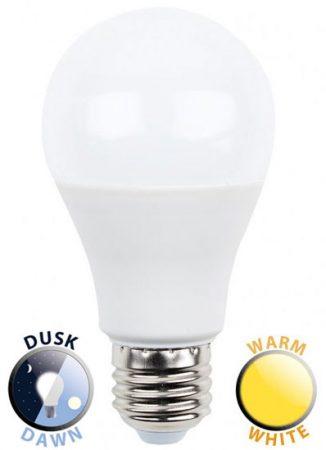5W LED ES/E27 GLS Light Bulb Dusk Till Dawn Warm White 470 Lumen
