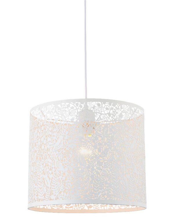 Secret Garden Filigree Steel 30cm Ceiling Pendant Shade Ivory