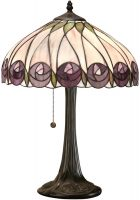 Hutchinson Mackintosh Rose Medium Tiffany Table Lamp