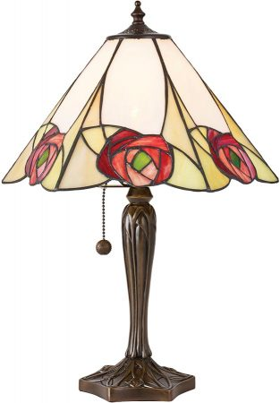 Ingram Medium Art Nouveau Tiffany Table Lamp