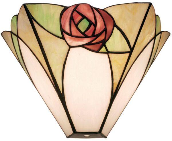 Ingram Art Nouveau Tiffany Rose Wall Light
