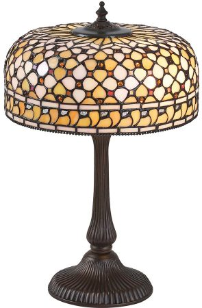 Mille Feux Medium 1 Light Tiffany Table Lamp