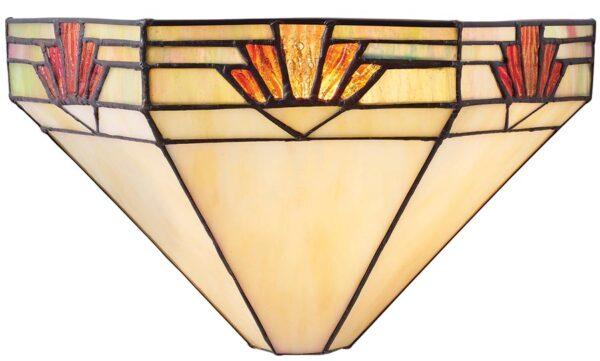 Nevada Art Deco Style Tiffany Wall Light