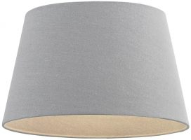 Cici Grey Fabric 8 Inch Small Table Lamp Shade