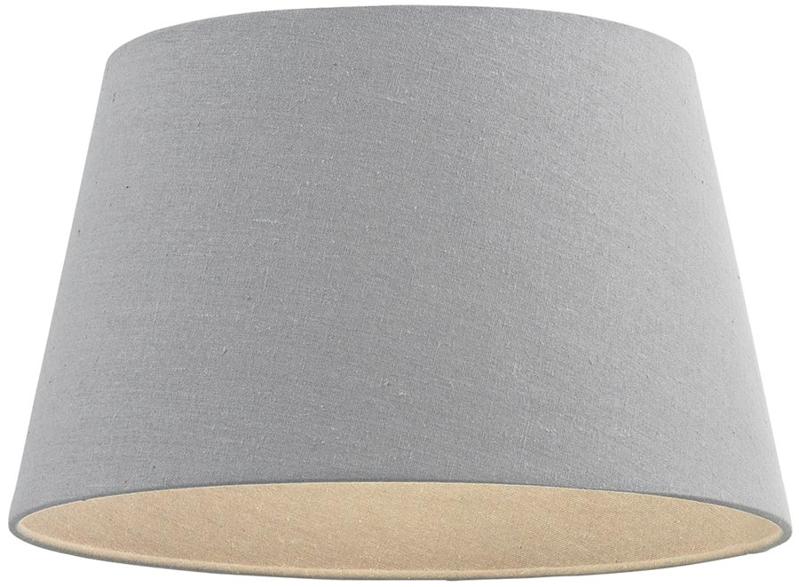 Cici Grey Fabric 8 Inch Small Table Lamp Shade 66204