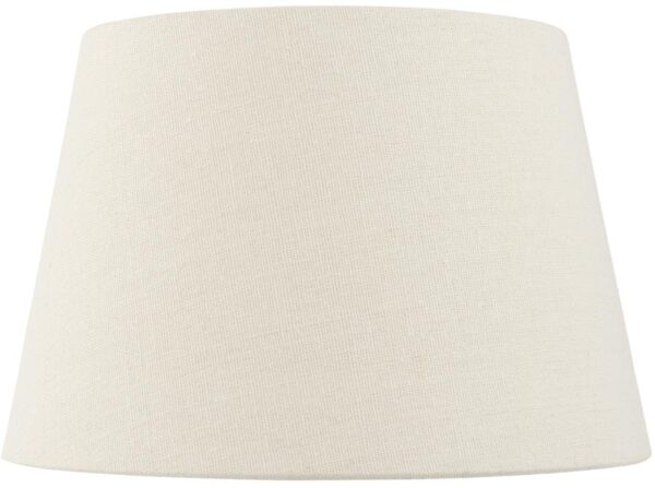 Cici Ivory Fabric 8 Inch Wall Light / Small Table Lamp Shade