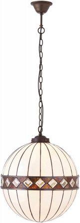 Fargo Medium Art Deco Style Tiffany Globe pendant Light