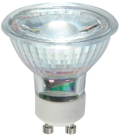 Dimmable 5w GU10 LED COB Cool White 345 Lumens
