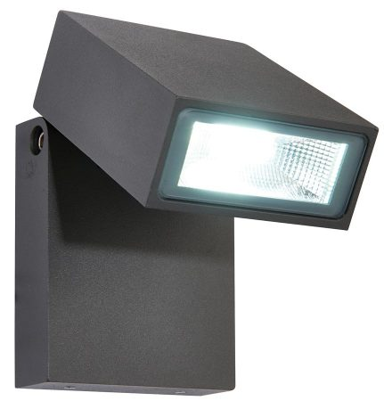 Morti Anthracite Adjstable 10w LED Outdoor Wall Light IP44
