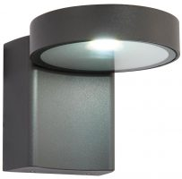 Oreti Modern Anthracite 10w LED Outdoor Wall Light IP44