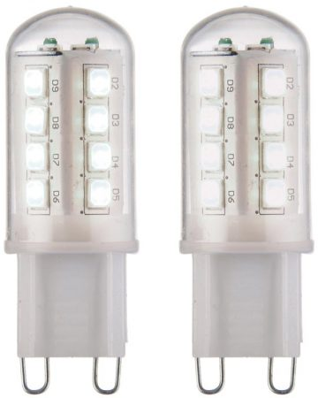 Cool White G9 LED Twin Pack 200 Lumen