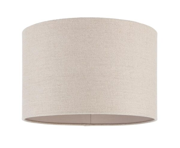 Obi 14 Inch Drum Table Lamp Shade Natural Linen