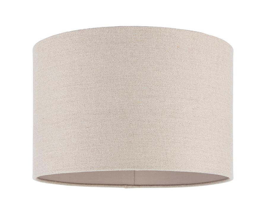 Obi 14 Inch Drum Table Lamp Shade, 14 Inch Lamp Shade Linen