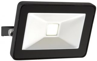 Sabre Black IP65 Outdoor Security Floodlight 10w LED
