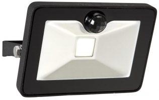Sabre Black Outdoor PIR Security Floodlight 10w LED