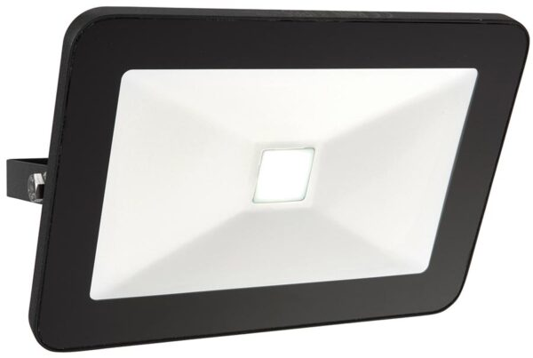 Sabre Black IP65 Outdoor Security Floodlight 50w LED