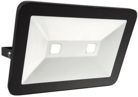Sabre Black IP65 Outdoor Security Floodlight 80w LED