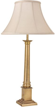 Nelson Traditional Solid Brass Column Medium Table Lamp Base