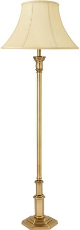 Canterbury Traditional Solid Brass Floor Lamp Base
