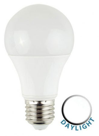 ES/E27 6W LED GLS Light Bulb 6500k Daylight White 500 Lumen