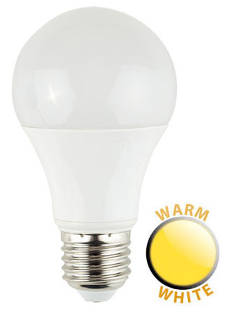 ES/E27 6W LED GLS Light Bulb 3000k Warm White 500 Lumen