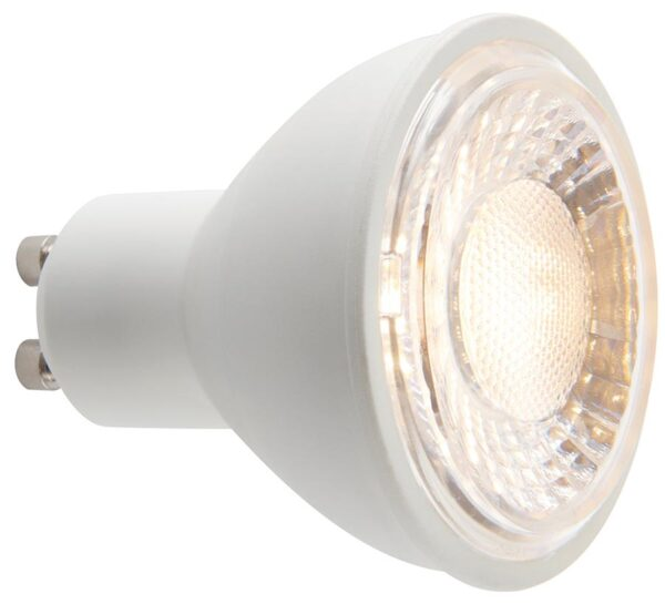 Warm White 7W GU10 SMD LED Lamp 60 Degree Beam